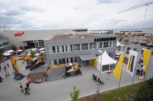 Inaugurado nuevo centro de comercialización, alquiler y servicio técnico Liebherr en Frankfurt
