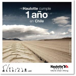 Haulotte Chile: 1er aniversario