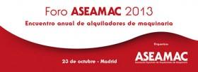 Últimos días para inscribirse en el Foro ASEAMAC con precio reducido