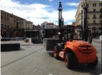 GAM monta dos escenarios en las fiestas más populares de Zaragoza