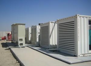 Distribuidor de Cummins Power Generation suministra energía primaria al campamento apoyo yacimiento en la región de Basora