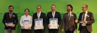 """El título de """" Máquina del Año 2014 """" fue otorgado a CLAAS en la categoría de electrónica"""