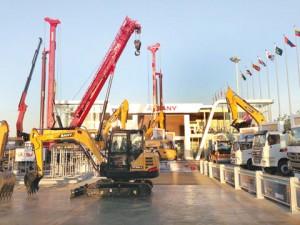 Sany Heavy Industry en China-Eurasia Expo