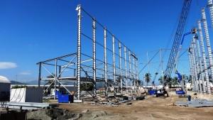 Riwal en la construcción de un astillero en Venezuela