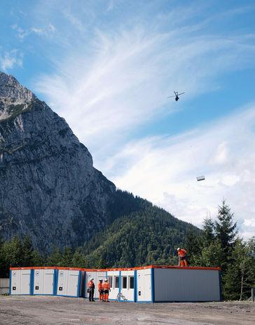 HKL en Zugspitze a 1.387 metros