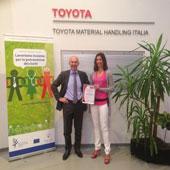 Toyota Material Handling Italia recibe OHSAS 18001