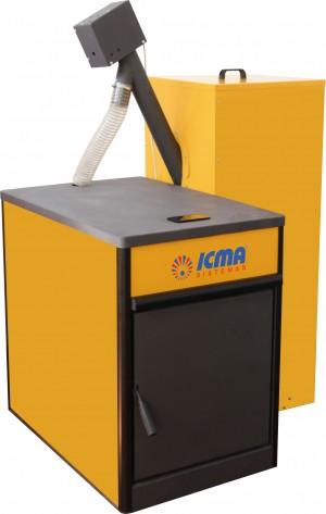Nueva gama de calderas de pellets SOLID y SOLID PLUS de Icma Sistemas
