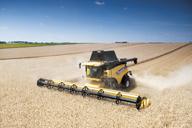 Guiado de hileras New Holland para aumentar la precisión en la cosecha