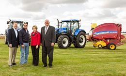 New Holland Agricultura apoya activamente la preservación de tierras cultivables del condado de Lancaster