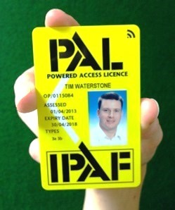 IPAF introduce el lector inteligente de carné PAL