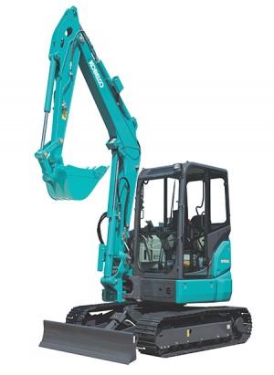 Nueva mini excavadora SK55SRX – 6 de KOBELCO