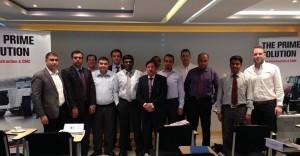 El equipo de Terex Construction Motherwell en Oriente Medio