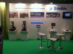AGROSAP – TRIMBLE novedades sobre Agricultura de Precisión  en FIMA2014
