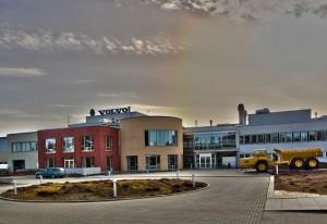 La planta de Volvo CE en Braås alcanza la neutralidad en CO2