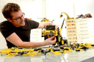 Volvo colabora con el grupo LEGO para construir maravillas en miniatura