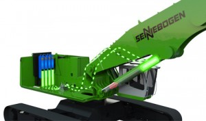 SENNEBOGEN Verde Hybrid ofrece un ahorro de costes de energía de hasta un 30 %