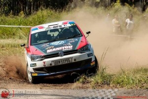 Grupo Manitou con el VW Polo en el SA National Rally Championships
