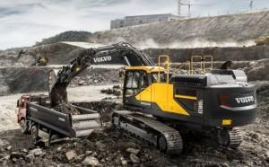 Volvo EC380E: un rival fuerte en condiciones exigentes