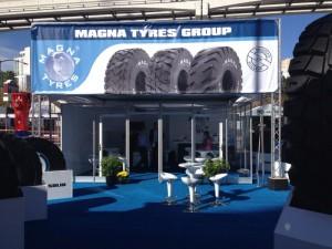 Magna Tyres Group en CONEXPO Las Vegas 2014