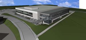 Liebherr está invirtiendo más de 160 millones de euros en la planta de Bulle