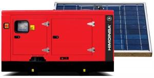 HIMOINSA ofrece soluciones de generación híbrida de energía, pudiendo reducir el consumo de diésel un 30%