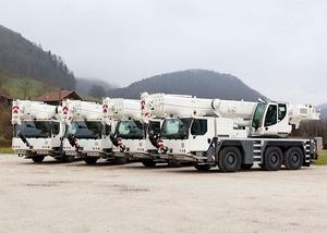 Cuatro grúas móviles LTM 1055-3.2 para el Ejército Suizo