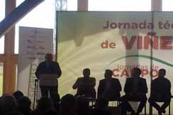 Bellota patrocina la I Jornada Técnica sobre Viñedo