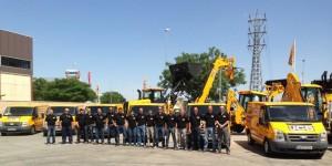 JCB y MASESUR celebran una jornada de Puertas Abiertas en Sevilla