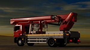 Nueva plataforma sobre camión de Palfinger P480 NX CLASE JUMBO