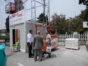 OGEI ha llegado a un acuerdo con el distribuidor de maquinaria argelino MIXTRADE