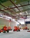 Gran despliegue de HUNE en la planta de cogeneración de Viscofan, Cáseda (Navarra) 21/05/2014