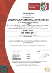Linden Comansa obtiene la certificación medioambiental ISO 14001:2004