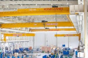 Aplicaciones fiables de las grúas industriales estándar de Konecranes