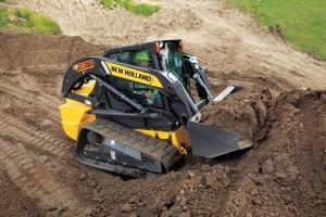 Las minicargadoras de neumáticos y las minicargadoras de cadenas New Holland Construction