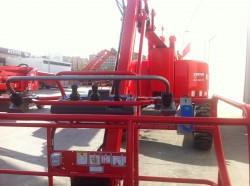 LOXAM , primera empresa que introduce en España un sistema de seguridad anti-atrapamiento en sus máquinas de elevación
