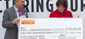 Sandvik rompe récord mundial Guinness