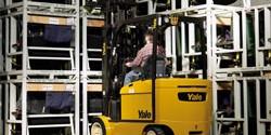 Series eléctricas VH de trabajo intensivo de Yale