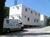 Conjunto modular de HUNE para la rehabilitación de Vila Joana