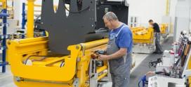La fábrica de Jungheinrich para carretillas y equipos de sistemas logísticos funciona a pleno rendimiento
