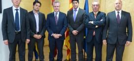 Visita a AUSA del Gobierno Regional Metropolitano de Santiago (Chile) junto con EuroAndina
