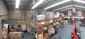 Manitou Australia duplica la capacidad de almacén de repuestos