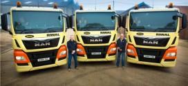 Riwal Reino Unido cuenta con su propia flota de transporte