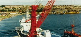 40 años de grúas portuarias móviles Liebherr