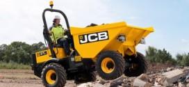 JCB agrega una línea de dumper  en equipos compactos