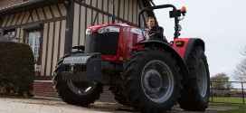 Massey Ferguson presenta  nueva gama de tractores en LAMMA 15