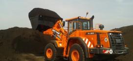 Reciclar con una cargadora Doosan DL350-3