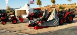 Tractores Kioti en la Feria del de Huetor-Tajar 2015