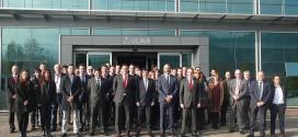 Cerca de 40 PYMES visitaron, de la mano del Santander, el Grupo ULMA