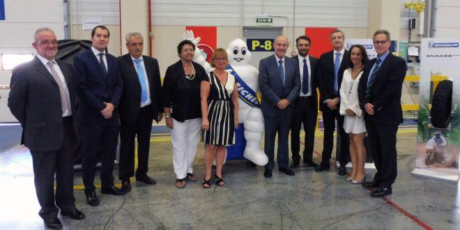 MICHELIN inaugura su almacén de 52.000m2 en Plataforma Central Iberum