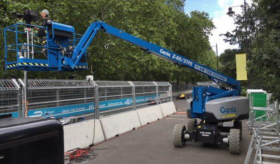 Genie en el campeonato Fia Formula E de Londres